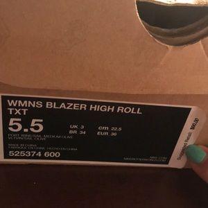 Nike Shoes - Women's blazer high roll
